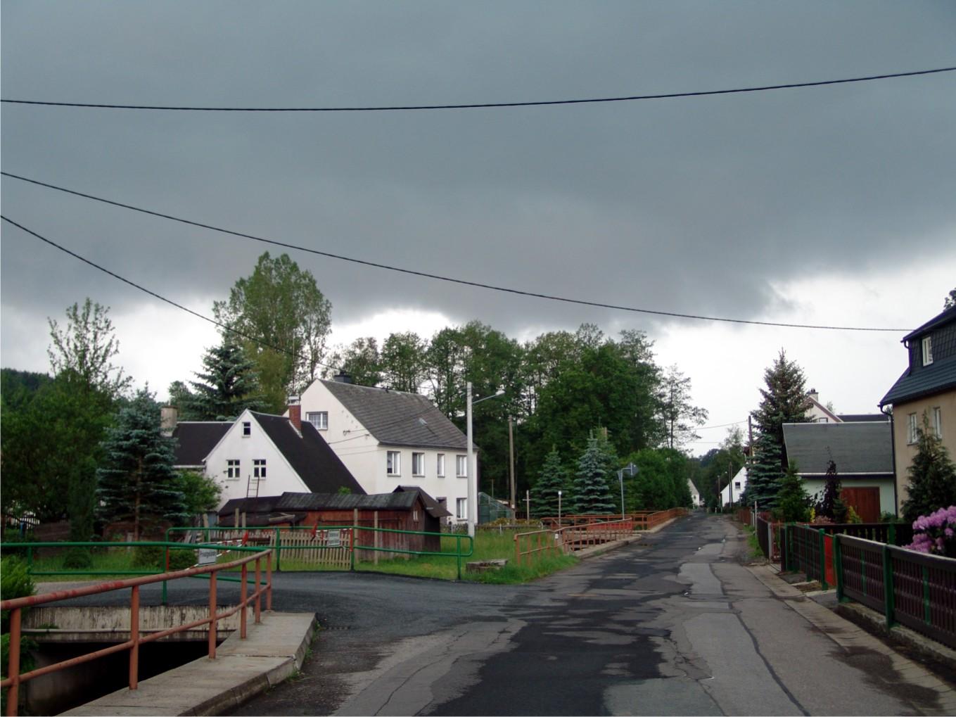 Hagel Wolke